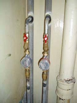 Замена стояков горячей и холодной воды в Ижевске, монтаж стояков водоснабжения